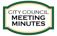 City Council Meeting Minutes